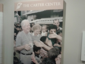 The Jimmy Carter Center in the Atlanta, Georgia
